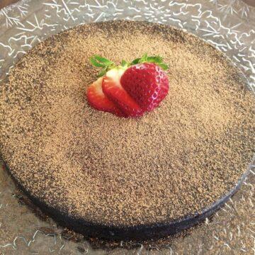 paleo flourless chocolate torte