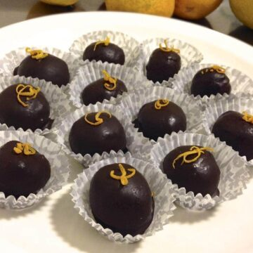 Dark Chocolate Orange Bonbon