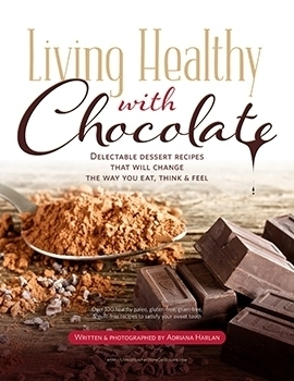 Living Healthy With Chocolate cookbook cover