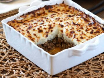 Healthy Shepherd's Pie Recipe (low-carb, paleo, whole30)